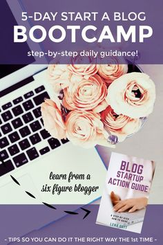 Are you THIS close to starting a blog but just need more guidance? This quick email course will walk you through the PLANNING and BLOG STARTUP process so you start a well-thought out blog the RIGHT WAY from day one. Written by six figure blogger Lena Gott from WhatMommyDoes.com  **Limited enrollment** | money making blog, step-by-step email tutorial