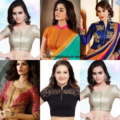 Saree Blouse Designs for Weddings