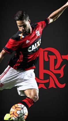 Diego Ribas, o Camisa 35, do Clube de Regatas do Flamengo
