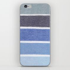 Buy Blues Color Blocks - Color Palette No 1 - Hand Drawn Stripes iPhone Skin by juliakwalton. Worldwide shipping available at Society6.com. Just one of millions of high quality products available.