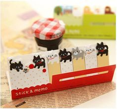 Qty: 1 Pack - 15 Sheets x 6 Packing Size: 5 x 12.5 cm Material: Paper Pattern: cat (Please refer to first photo)  More Cat please visit