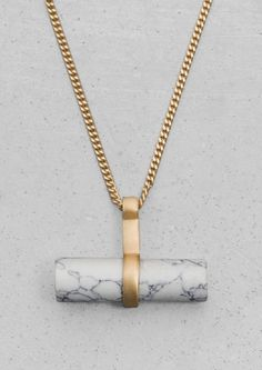 Stone Bar Necklace   Stone Bar Necklace   & Other Stories