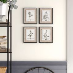 'Ladouceur' 4 Piece Picture Frame Gallery Wall Set Set & Reviews | Birch Lane