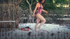 Video grabado en vivo a orillas del río Guriú, Camocin, Ceará, Brasil en alta resolución, 192 khz 24 bits