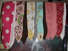 Rockabilly  Pin up style Headwrap / Hair Scarf/ by BodyAllOver, $8.00