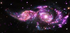 Chandra X-ray observatory, the Hubble Space Telescope[e and the Spitzer Space Telescope.