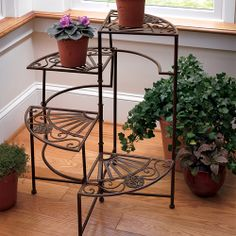 Four-Tier Plant Stand