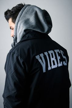 Weekend vibes... Jacket available from www.wastedheroes-shop.com/product/vibes-nylon-coach-jacket