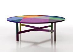 10 TABLES PAR ARIK LEVY POUR LE LONDON DESIGN FESTIVAL