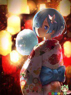 Rem (Re:Zero) - Re:Zero Kara Hajimeru Isekai Seikatsu - Mobile Wallpaper - Zerochan Anime Image Board Anime Kimono, Beautiful Anime Girl, I Love Anime, Animes Wallpapers, Cute Wallpapers, Anime Chibi, Anime Manga, Ram Y Rem, Zero Wallpaper