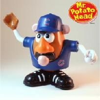 Brand New Chicago Cubs Blue Mr. Potato Head--getting this