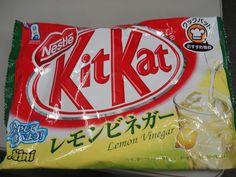 Lemon Vinegar Kit Kat