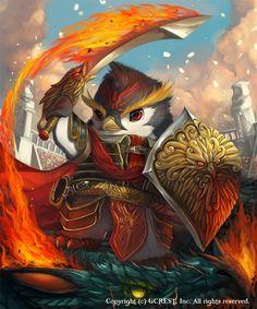 Penguin Warrior (Advance)