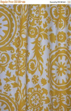Summer Sale CURTAINS DRAPERIES  Two by iDecorateWithPillows