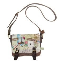 Disaster Designs Bon Voyage Mini Satchel Bag