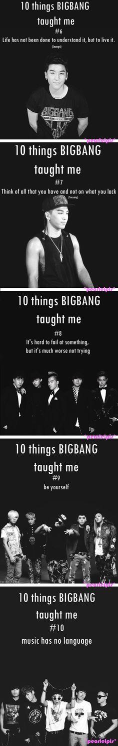 10 Things BIGBANG taught me
