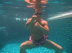 Donnie Yen, underwater kung fu.