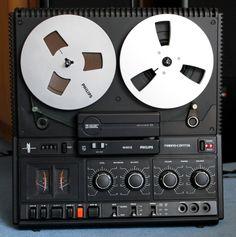 Philips N 4512, tape recorder (reel to reel), 1979