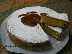 Una morbida torta di mele
