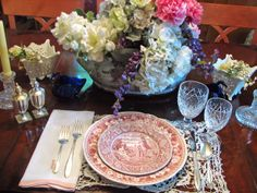Polish the heirloom silver, break out the crystal stemware and set a formal table, Table setting by Rate My Space user countrygrl125.