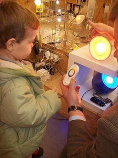 The Lights Project: Implementation of the Project Approach with Children Under 3 years of age. This is enlightening!