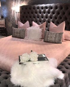 People with flair for the unusual should consider pink for the bedroom. Different shades of pink can be used for coloring walls for your bedroom. Instead of using regular shades of light or dark pink, your pink bedroom decor can… Continue Reading → Interior, Bedroom Makeover, Bedroom Themes, Home Decor, House Interior, Pink Bedroom Decor, Bedroom Decor, Cute Bedroom Ideas, Girl Bedroom Decor