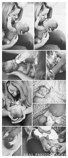 lifestyle newborn baby portraits