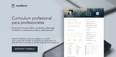 Desarrollando la nueva plataforma de edición de cv y web personal:Excellencv