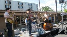 We enjoyed the music of Roy Rapid and the Rhythm Rock Trio at Tiki Oasis on Sunday out in the car show.