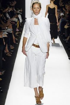 Michael Kors Collection Spring 2006 Ready-to-Wear Fashion Show - Erin Wasson