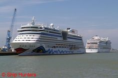 AIDAluna & AIDAstella - thx to Ship Hunters