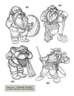 Dwarves by chewgag.deviantart.com on @deviantART