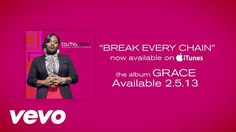 There is power in the name of Jesus!  * Music video by Tasha Cobbs performing Break Every Chain (Lyrics). (P) (C) 2012 EMI Gospel. All rights reserved. Unauthorized reproduction is a violation of a...