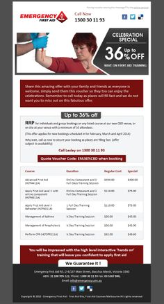 Emergency Aid 1- A series of email campaigns