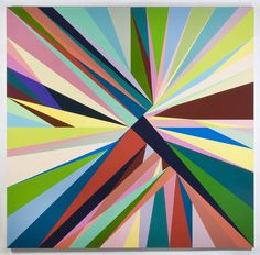 Love this piece by painter Odili Donald Odita