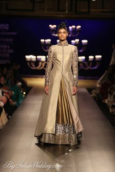 Manish Malhotra lehenga with floor-length jacket