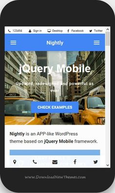 Nightly is a material design advance #WordPress theme for #mobile and #apps website download now➩  https://themeforest.net/item/nightly-material-mobile-theme-for-wordpress/19279511?ref=Datasata