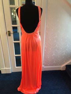Lumionous orange rear view