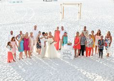Happily Ever After. Lauren + Tim Sunset Wedding at the Hilton Clearwater Beach - by True Love Photography