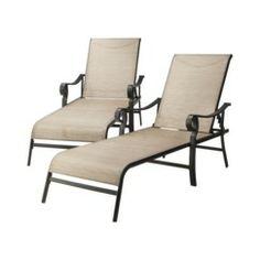 Threshold™ Nokomis 2-Piece Sling Patio Chaise Lounge Set Quick Information