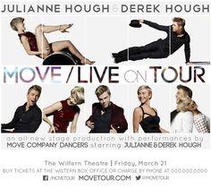 Move Live Tour Julianne and Derek Hough