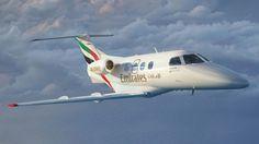 Escola com asas: Embraer Phenom 100E tem equipamentos semelhantes aos de jatos de grande porte (Embraer)