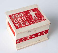 PACKAGING | UQAM: Voodoo Tea | Anne-Marie Léger