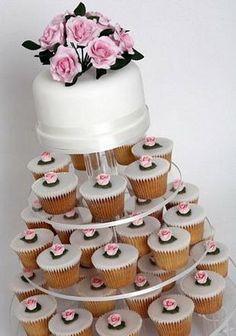 bolos-decorados-com-flores-cupcakes