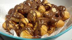 Zeppoline fritte alla Nutella! Ricetta facilissima e golosissima!
