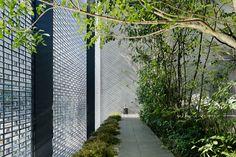 'optical glass house' by hiroshi nakamura & NAP, hiroshima, japan. via designboom, via kate.