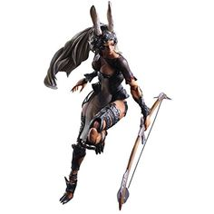 Square Enix Final Fantasy XII: Fran Play Arts Kai Action Figure ** Click image for more details. (This is an affiliate link) #ActionToyFigures