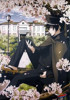 """KHR Hibari  I bet u guys were like this for a moment """"whos this guy?"""""""