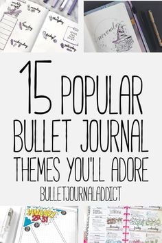 Bullet Journal Themes and Ideas – Bullet Journal Ideas for Monthly Themes – 15 Popular Bullet Journal Themes You'll Adore Bullet Journal Inspo, December Bullet Journal, How To Bullet Journal, Bullet Journal Tracker, Bullet Journal Printables, Bullet Journal Themes, Bullet Journal Layout, Bullet Journals, Bullet Journal Index Page