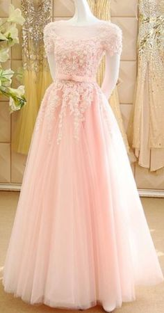 Princess Prom Dresses, Cheap Evening Dresses, A Line Prom Dresses, Ball Dresses, Wedding Dresses, Party Dresses, Pink Princess Dress, Princess Party, Formal Dresses